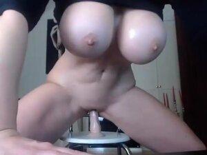 Dildo hüpfball Tits Hits